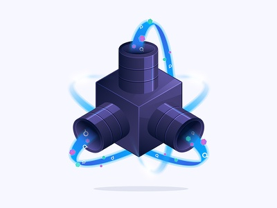 Computing Data algorithm search data illustration algolia