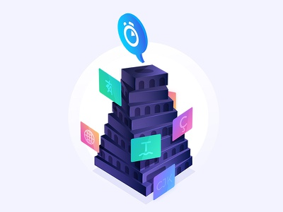 Algolia Babel tower tower babel language search algolia