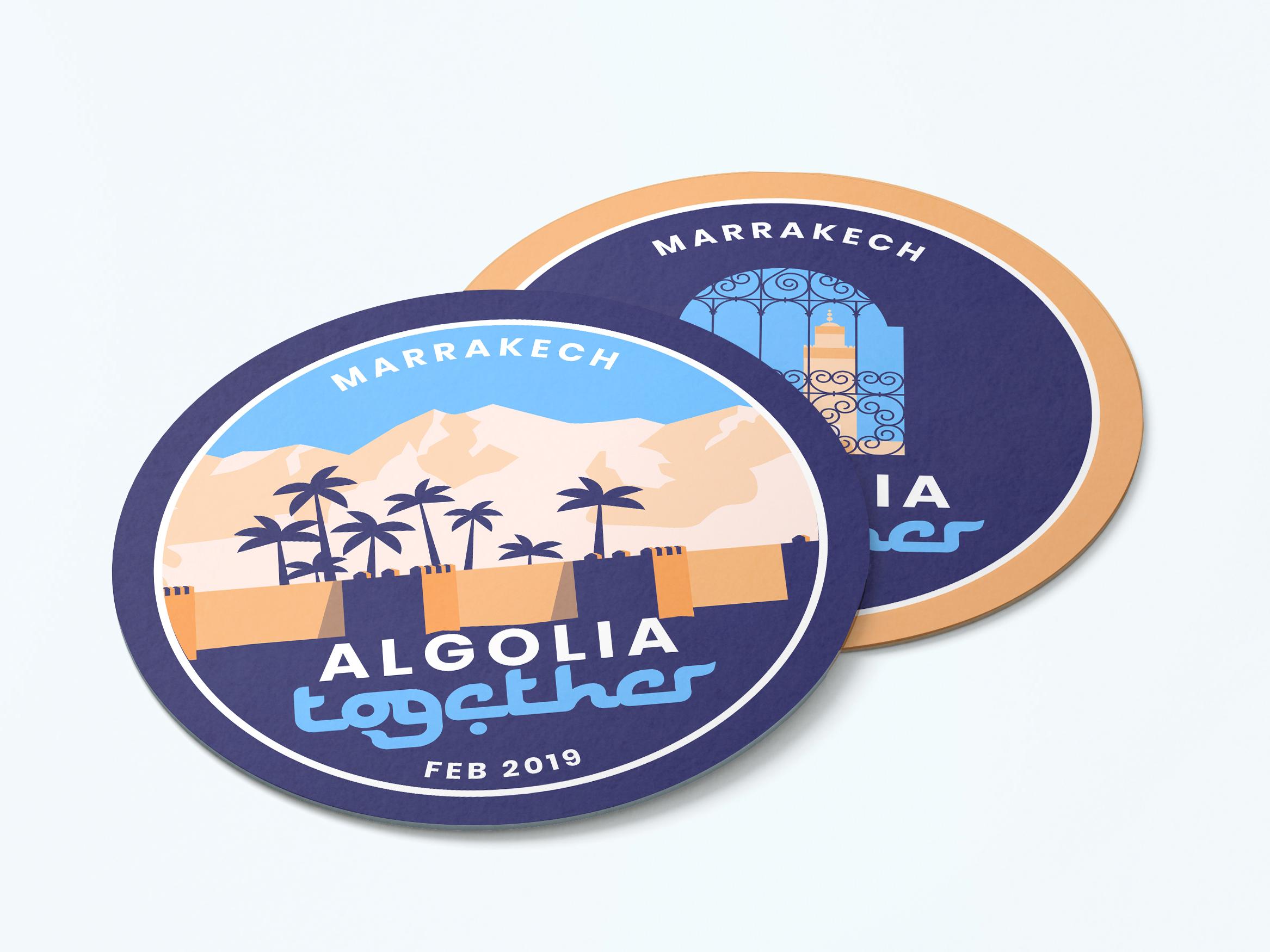 Algolia coasters