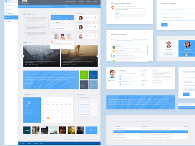 Sharepoint Intranet pull quote ux design ui design ux ui modal forms gallery calendar styleguide dropdown intranet sharepoint