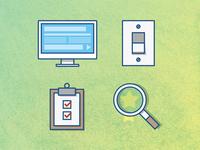 Icons for PIR Media Kit