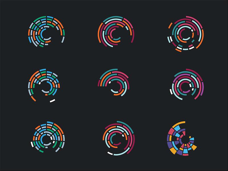 Logo concepts for Climate Impact Lab environmental environment climate nonprofit logo