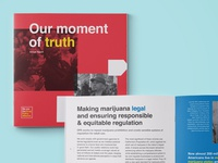 Print Annual Report for Drug Policy Alliance