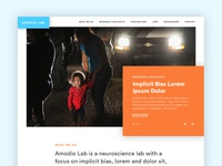 Amodio Labs website