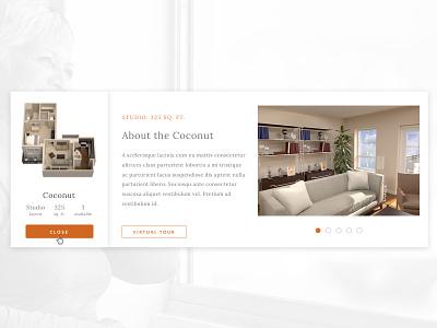 Floor Plans mobile website senior living residence floor plan ux ui
