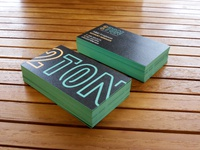 2TON Business Cards
