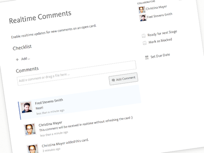 Realtime Comments