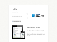 Blossom integration with hipchat settings full