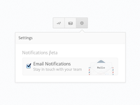 Email Notifications Setting