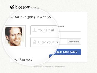 Accept invitation via login dribbble