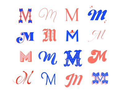 Mmmm hand type hand lettering m lettering homwork