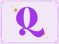 Q // 36 Days of Type