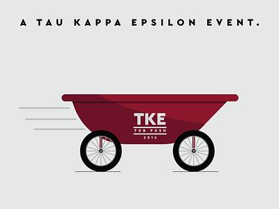 Tub Graphic (WIP) tau kappa epsilon fraternity speed wheels tub volunteer