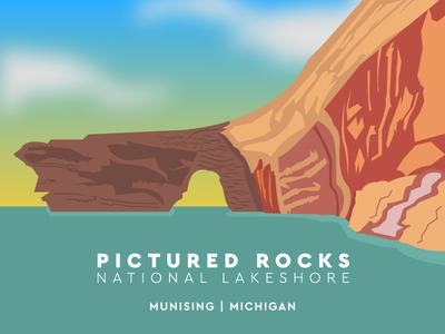 National Parks Challenge - Pictured Rocks