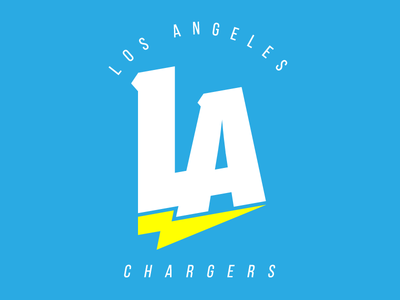 Los Angeles Chargers Rebrand