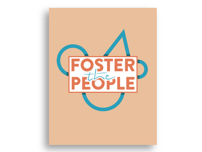 One Hour Design Challenge - Foster The People