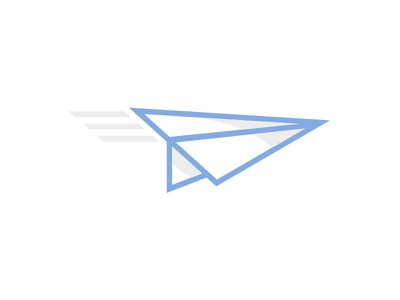 Gadabout World Travel (WIP) paper airplane travel illustrator vector