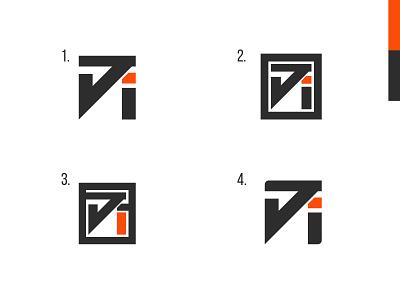 JI Simplified Mark (WIP) illustrator simplicity minimalistic vector identity brand