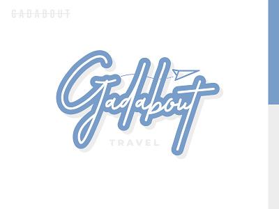 Gadabout Brand (Final) airplane travel brand identity design logo illustration typography illustrator vector
