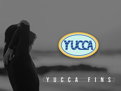 YUCCA Fins body surfing surfing california design brand identity illustrator vector