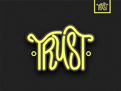Hand Lettering #1 hand lettering design typography illustrator vector