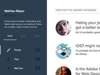 Blog and Portfolio in one