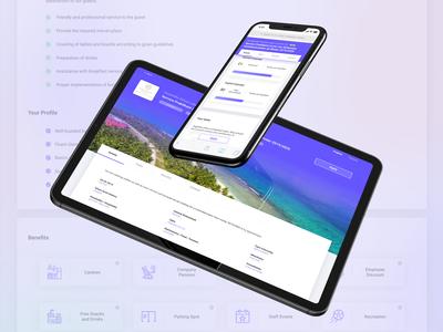 Job list UI/UX