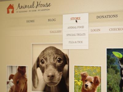 Animal House georgia dog blackjack organic animals