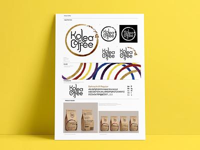 Kolea Coffee - Branding logo coffee brand design branding