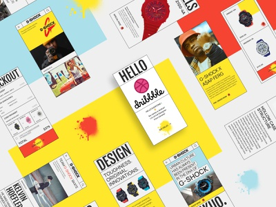 Hello dribbble! e-commerce watches greeting minimal mini web design web gallery clean ui web concept new interactive website uiux debut app ux ui design
