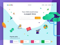Hello Dribbble | Landing Page