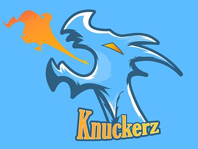 KZ Dragon Logo twitch streaming flat branding design vector illustration logo dragon