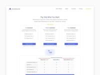 Pricing page - Auto Adwords