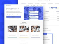 Landing page + Agent page
