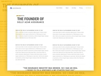 An interview with the founder