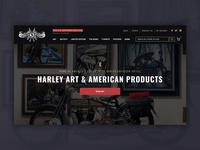 1st Official Harley Davidson Artist | Ecommerce