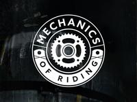 Mechanics of Riding Logo Design
