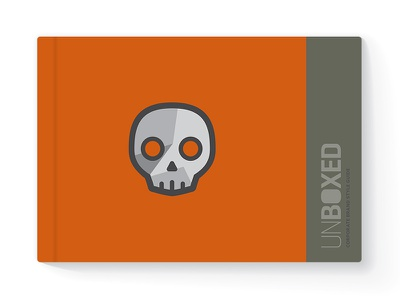 Unboxed Style Guide corporate brand designer toys designer toy toy toys skull layout logo branding illustration style guide