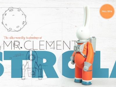 Unboxed Brochure Cover catalog magazine brochure print rabbit designer toy toy