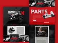 Ducati Scrambler Website
