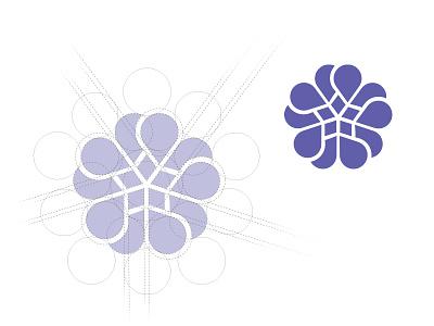 DONA International Logo Redesign star pregnancy logo hearts geometric doula branding brand birth