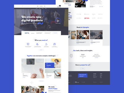 Mobee Dick - Design Concepts for Homepage @webdesign @website @design ui design uidesign ui  ux uiux ui design website design web design webdesign website web
