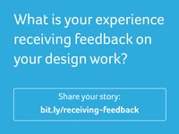Quick survey on giving and receiving design feedback