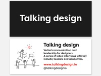Talking design: mini moo cards