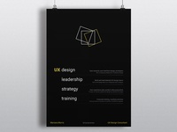UX Consultancy poster