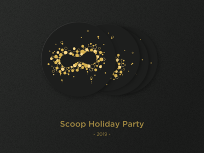 Holiday coaster