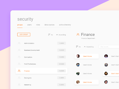 Security dashboard web app product design enterprise flat dashboard admin security