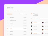 Security dashboard
