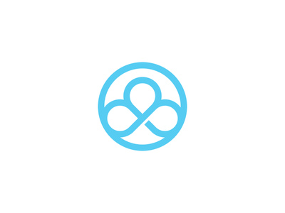 The Studio geometric flat branding identity
