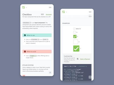 Signal Documentation Responsive clean responsive design web app product design flat design system